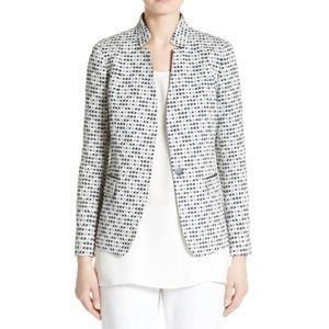 LAFAYETTE 148 NEW YORK Alexis Woven Jacket Size 6